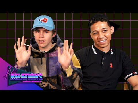 Kid Laroi & Lil Bibby 'Artist Relations' Interview