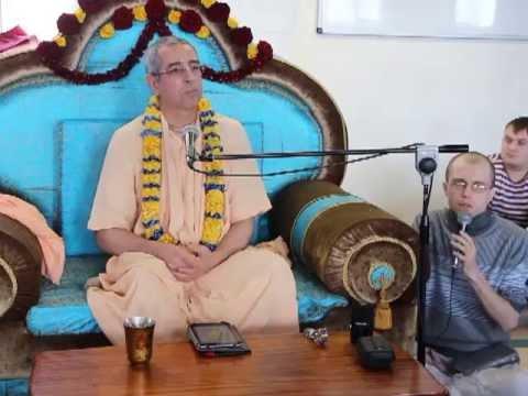 Бхагавад Гита 9.22 - Ниранджана Свами