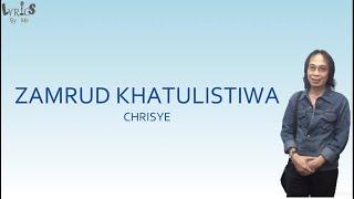 CHRISYE - ZAMRUD KHATULISTIWA - LyricsByMe   Lirik