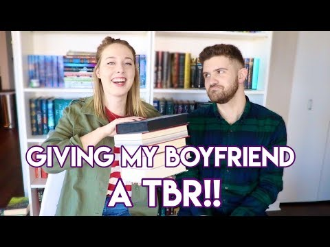 MAKING MY BOYFRIEND READ YA: THE TBR!