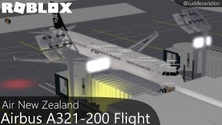 ROBLOX - Vol A321-200 d'Air New Zealand