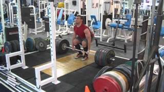 Josh Schwind 255kg (562) Deadlift