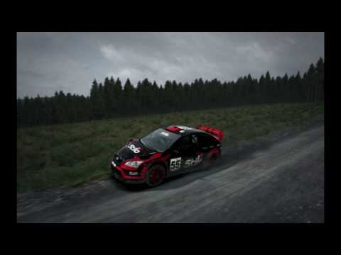 Dirt rally - Improve road side geometry and add soft-body physics to the ground