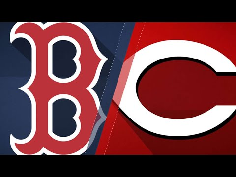 Red Sox blank the Reds in a 5-0 victory: 9/23/17