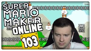 "SUPER MARIO MAKER ONLINE Part 103: First Try or Skip Challenge: 100-Mario-Herausforderung ""normal"""