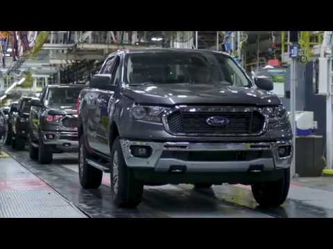 2019 Ford Ranger PRODUCTION | Car Factory Production Line