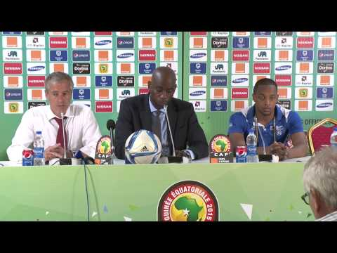 Cape verde vs. DR Congo - Press Conference (22/01) - Orange Africa Cup of Nations, EQG 2015