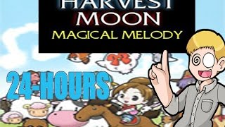 24 hours of Harvest Moon: Magical Melody