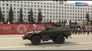 Парад Победы в Йошкар-Оле 9 мая 2021 года