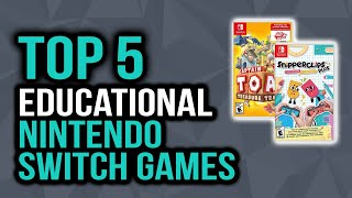 Top 5 Best Educational Nintendo Switch Games For Kids In 2020