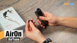 AirOn AirTune — обзор беспроводной гарнитуры с внешним аккумулятором