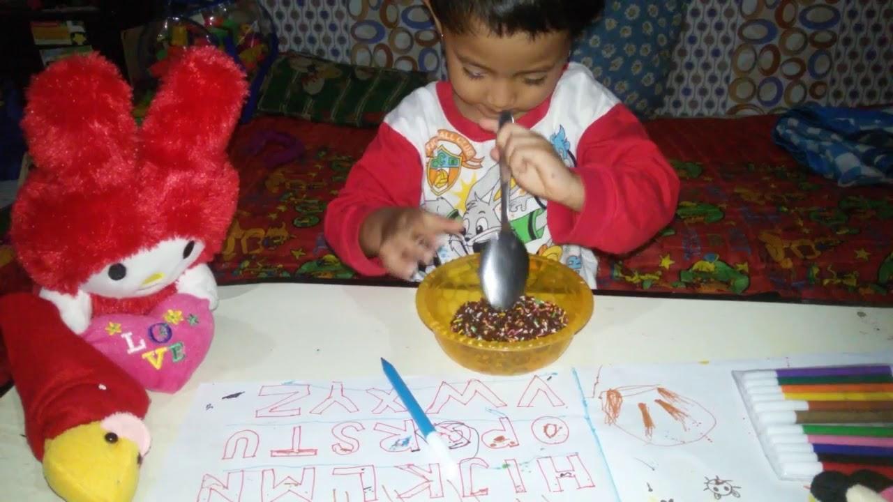 MIS MANDIRI SAFA Belajar Mewarnai ABC Baca Tulis Gambar Learn & Coloring ABC Alphabet Kids