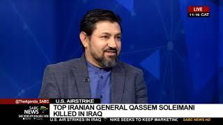 US air strike kill Iran's military commander, General Qasem Soleimani