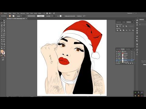 #Illustrator Transformar Foto Em Desenho No Illustrator Com O Mouse Tutorial