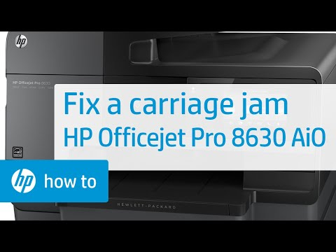 how to clear a paper jam hp officejet j4680