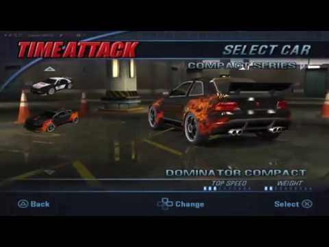 Burnout 3 Takedown  「All cars & Sounds」