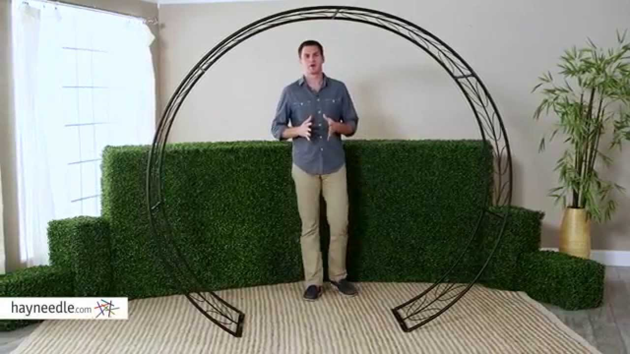 Belham Living Iron Leaf Tunnel Arbor Product Review