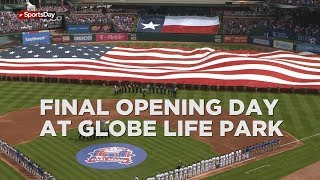 Sights and sounds of Opening Day 2019 at Globe Life Park
