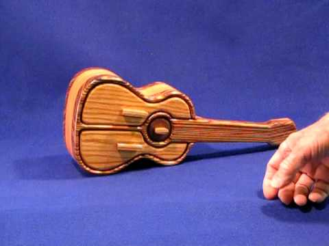 Guitar Shaped Jewelry Box - YouTube