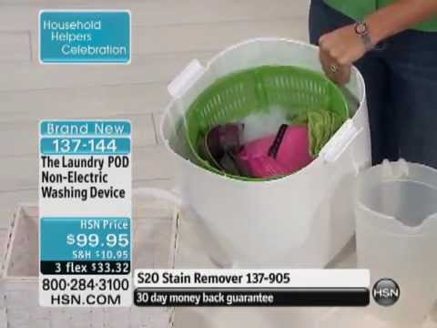 non electric laundry machine