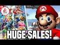 Smash Bros Ultimate HUGE Sales In Japan & UK! Best Selling Smash EVER?!