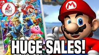 Smash Bros Ultimate HUGE Sales In Japan & UK! Best Selling Smash EVER?!