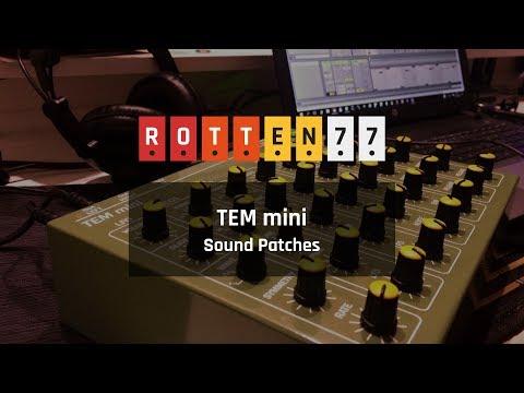 TEM mini Sound Patches