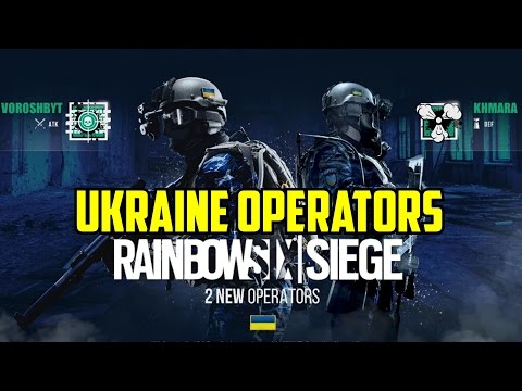 Rainbow Six Siege LEAK UKRAINE OPERATORS? Voroshbyt & Khmara Operation Rust Fall Season 5