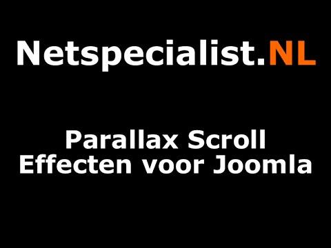 Een Parallax Scroll Effect Voor Joomla