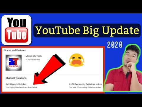 Your copyright violations are listed below | Channel Violations | Hindi 2020