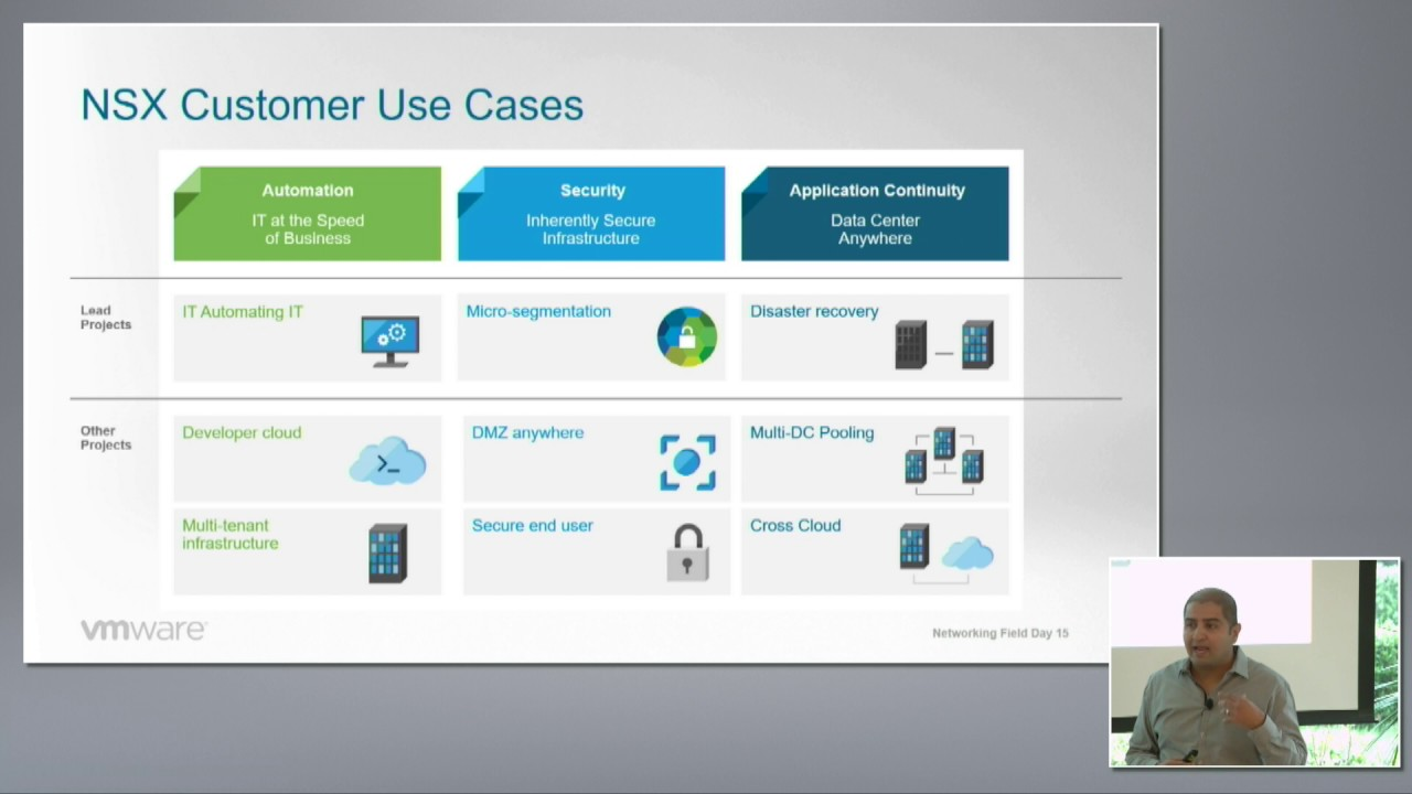 VMware NSX Vision and Product Overview with Milin Desai