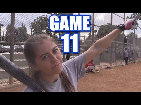 CIARA CALLS HER SHOT! | On-Season Softball Series | Game 11