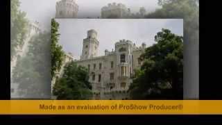 Величественный замок ГЛУБОКА НАД ВЛТАВОЙ 2012
