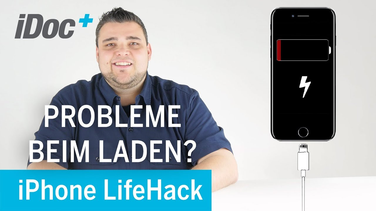 Lifehack - iPhone lädt nicht, Ladeprobleme beheben, iPhone erkennt ...