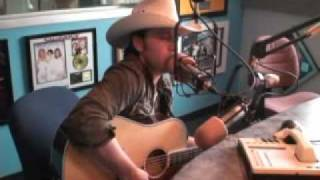Justin Moore performs live in the 97.3 The Eagle Studio!