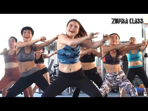 Aerobic Workout Burning 550 Calories in 40 Minutes l Zumba Class