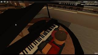 You Can Become a Hero - Boku no Hero Academia de: Yuki Hayashi sur un piano ROBLOX. [Revamped]