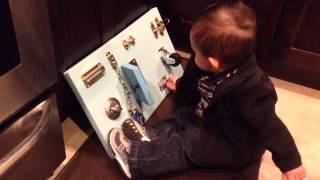 Diy Toddler Busy Board