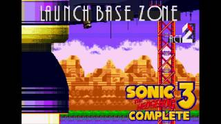 Launch Base Zone - Act 2 (Alternate BGM) [Sonic 3 Complete music]