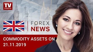 InstaForex tv news: 21.11.2019: Oil unable to gain momentum amid negative background (Brent, USD/RUB)