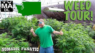 INSIDE ~ Tour A LEGAL Pot Farm in Washington!!!