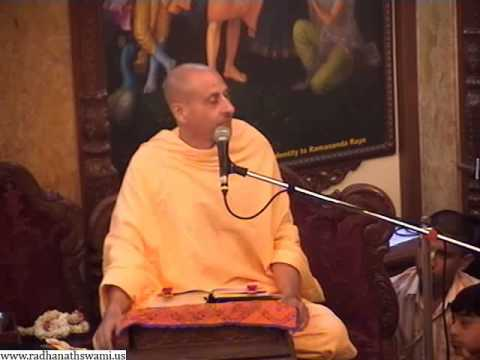 Being Eager to hear about Krishna Radhanath Swami at ISKCON Chowpatty