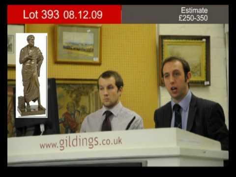 Lot 393 :: 08/12/09 :: Gildings Auctioneers :: Fine Art & Antique Sale