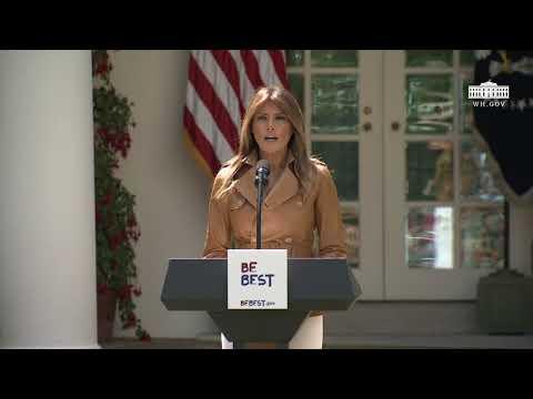 First Lady Melania Trump's Initiative Launch