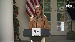 First Lady Melania Trump's Initiative Launch