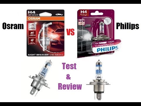 Royal Enfield.Philips Xtreme Vision plus vs Osram laser night breaker test and review.