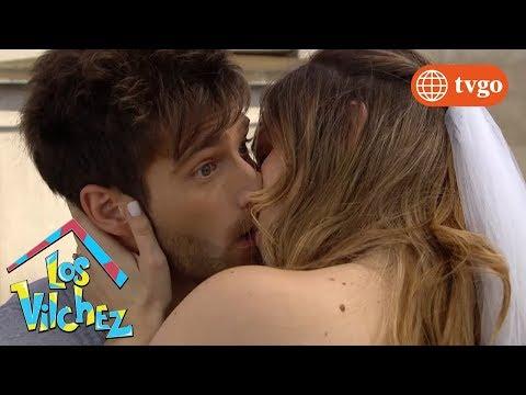 ¡Bicho se besa con la infartante Sole! - Los Vílchez 12/02/2019