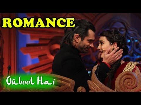 Qubool Hai : Karan Singh Grover & Surbhi Jyoti shoot a ROMANTIC DANCE Sequence -25th November 2013