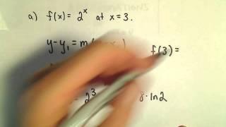 إيجاد والتقريب الخطي (Linearization, خط المماس تقريبا) ، آخر السابقين 1