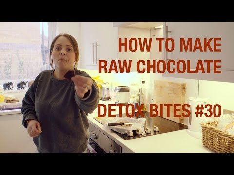 How To Make Raw Chocolate! - Detox Bites #30